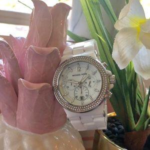 Ceramic Michael Kors Watch